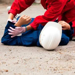 First Aid and CPR training with AED instruction